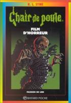 """Couverture du livre : """"Film d'horreur"""""""