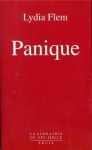 """Couverture du livre : """"Panique"""""""