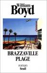 """Couverture du livre : """"Brazzaville plage"""""""