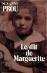 """Couverture du livre : """"Le dit de Marguerite"""""""
