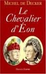 """Couverture du livre : """"Le chevalier d'Eon"""""""