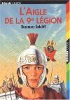 """Couverture du livre : """"L'aigle de la 9e légion"""""""