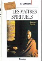"""Couverture du livre : """"Les maîtres spirituels"""""""
