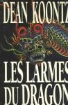 """Couverture du livre : """"Les larmes du dragon"""""""