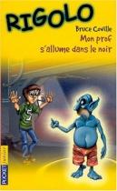"""Couverture du livre : """"Mon prof s'allume dans le noir"""""""