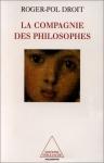 """Couverture du livre : """"La compagnie des philosophes"""""""