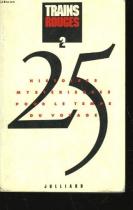 """Couverture du livre : """"Trains rouges"""""""