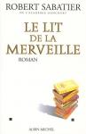 """Couverture du livre : """"Le lit de la merveille"""""""