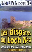 """Couverture du livre : """"Les disparus du Loch Ness"""""""