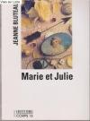 """Couverture du livre : """"Marie et Julie"""""""