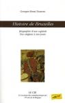 """Couverture du livre : """"Histoire de Bruxelles"""""""