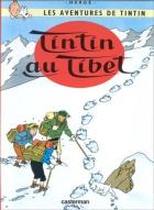 """Couverture du livre : """"Tintin au Tibet"""""""