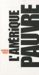 """Couverture du livre : """"L'Amérique pauvre"""""""