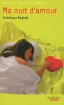 """Couverture du livre : """"Ma nuit d'amour"""""""