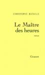 """Couverture du livre : """"Le maître des heures"""""""