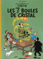 """Couverture du livre : """"Tintin et les sept boules de cristal"""""""