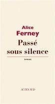 """Couverture du livre : """"Passé sous silence"""""""