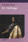 """Couverture du livre : """"En héritage"""""""