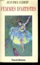 """Couverture du livre : """"Femmes d'artiste"""""""