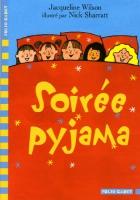 """Couverture du livre : """"Soirée pyjama"""""""