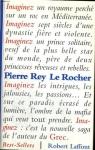 """Couverture du livre : """"Le Rocher"""""""