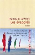 """Couverture du livre : """"Les évaporés"""""""