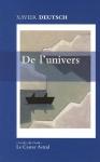 """Couverture du livre : """"De l'univers"""""""