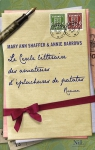 """Couverture du livre : """"Le cercle littéraire des amateurs d'épluchures de patates"""""""