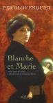 """Couverture du livre : """"Blanche et Marie"""""""