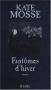 """Couverture du livre : """"Fantômes d'hiver"""""""
