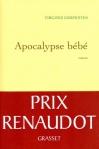 """Couverture du livre : """"Apocalypse bébé"""""""