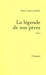 """Couverture du livre : """"La légende de nos pères"""""""
