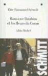 """Couverture du livre : """"Monsieur Ibrahim et les fleurs du Coran"""""""