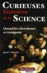 """Couverture du livre : """"Curieuses histoires de la science"""""""