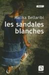 """Couverture du livre : """"Les sandales blanches"""""""