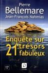 """Couverture du livre : """"Enquête sur 21 trésors fabuleux"""""""