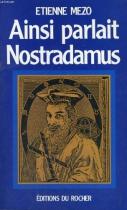 """Couverture du livre : """"Ainsi parlait Nostradamus"""""""