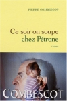 """Couverture du livre : """"Ce soir on soupe chez Pétrone"""""""