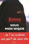 """Couverture du livre : """"Sous mon niqab"""""""