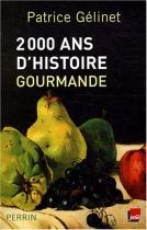 """Couverture du livre : """"2000 ans d'histoire gourmande"""""""