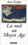 """Couverture du livre : """"La nuit au Moyen Âge"""""""