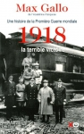 """Couverture du livre : """"1918, la terrible victoire"""""""
