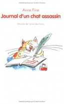 "Couverture du livre : ""Journal d'un chat assassin"""