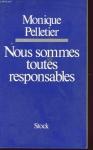 """Couverture du livre : """"Nous sommes toutes responsables"""""""