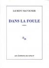 """Couverture du livre : """"Dans la foule"""""""