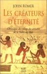 """Couverture du livre : """"Les créateurs d'éternité"""""""