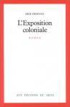 """Couverture du livre : """"L'exposition coloniale"""""""
