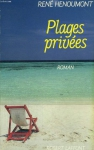 """Couverture du livre : """"Plages privées"""""""