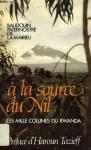 """Couverture du livre : """"A la source du Nil"""""""