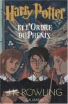 """Couverture du livre : """"Harry Potter et l'ordre du phénix"""""""